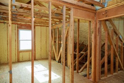 Spray Foam Insulation Attic Installation Dayton
