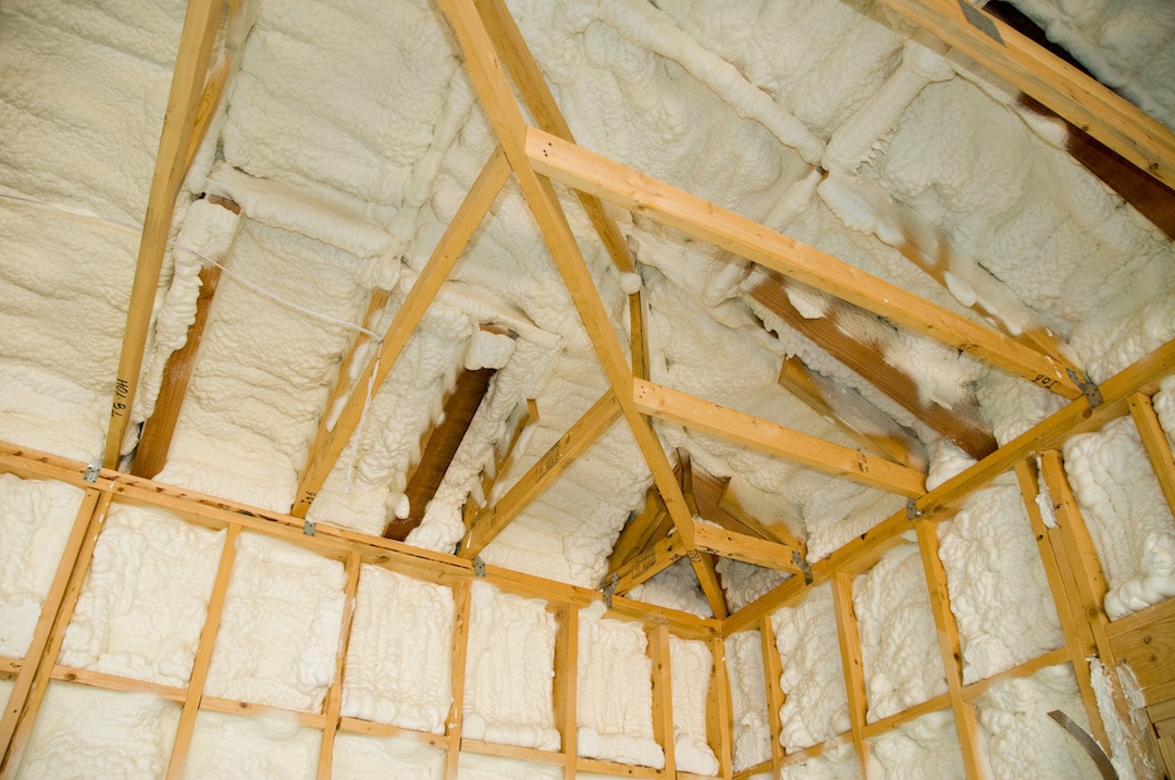 Spray Foam Insulation Attic Insulation Dayton OH