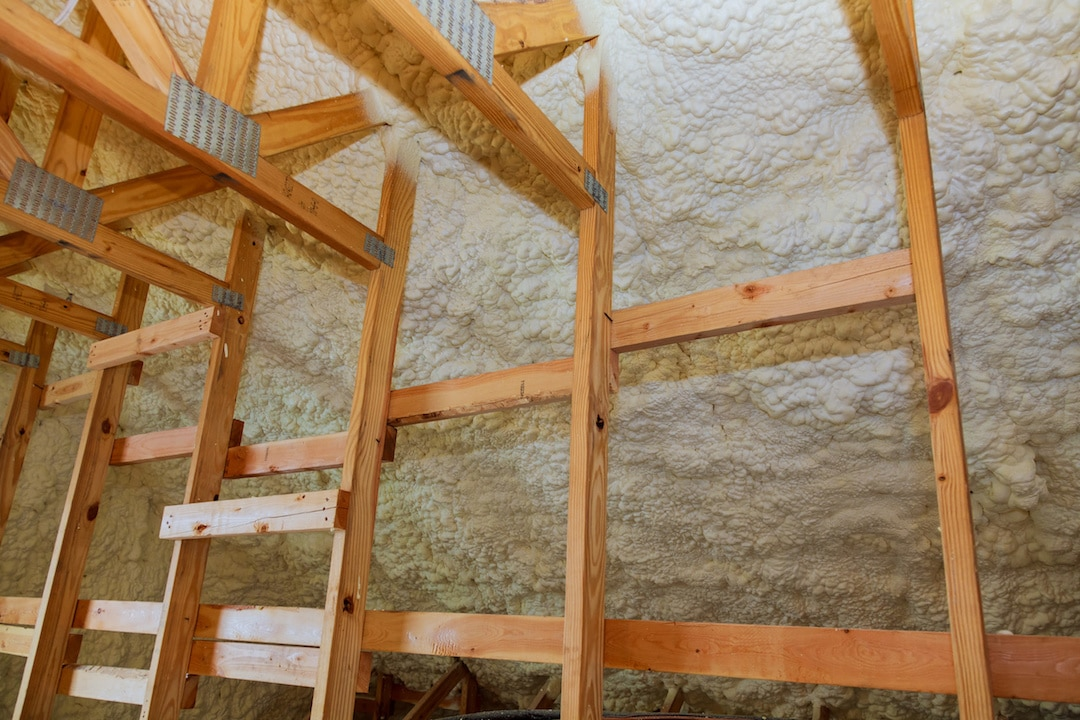 Spray Foam Insulation Attic Installation Dayton Ohio