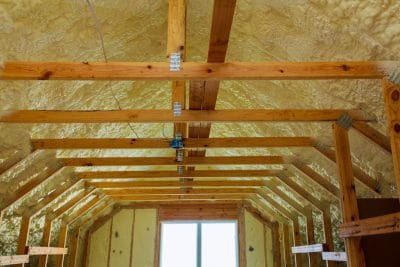 New Construction Spray Foam Insulation