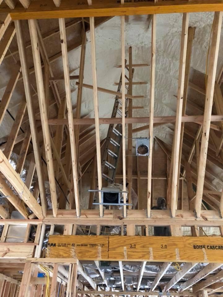 Installing Attic Insulation Dayton Ohio