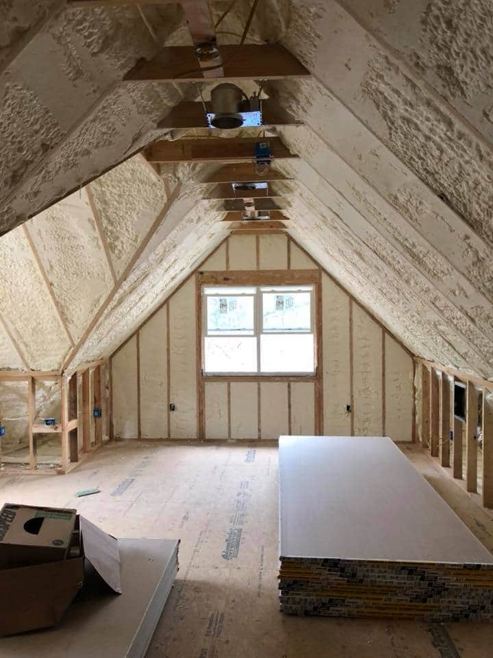 New Attic Insulation Dayton